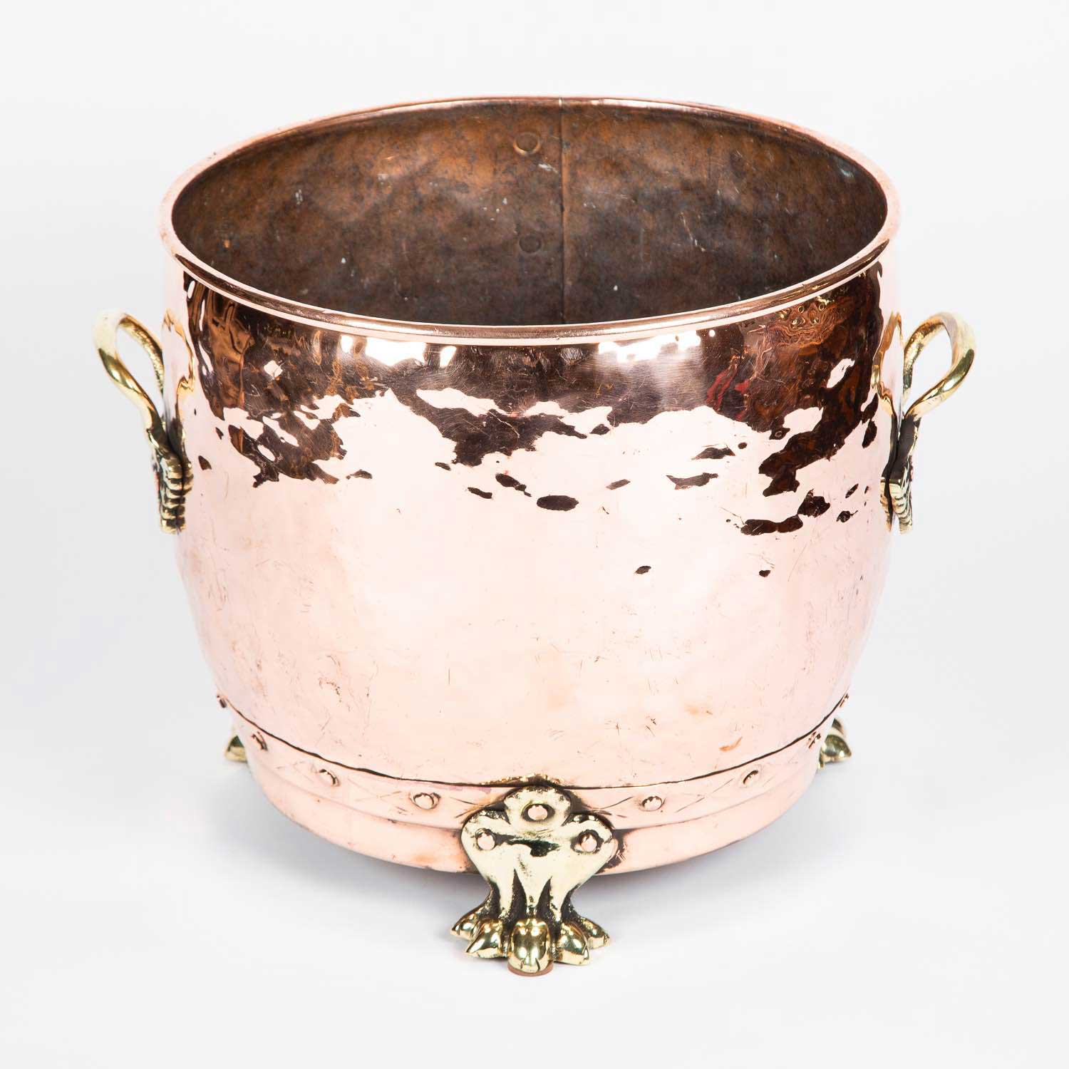 Copper Planter by Bamford