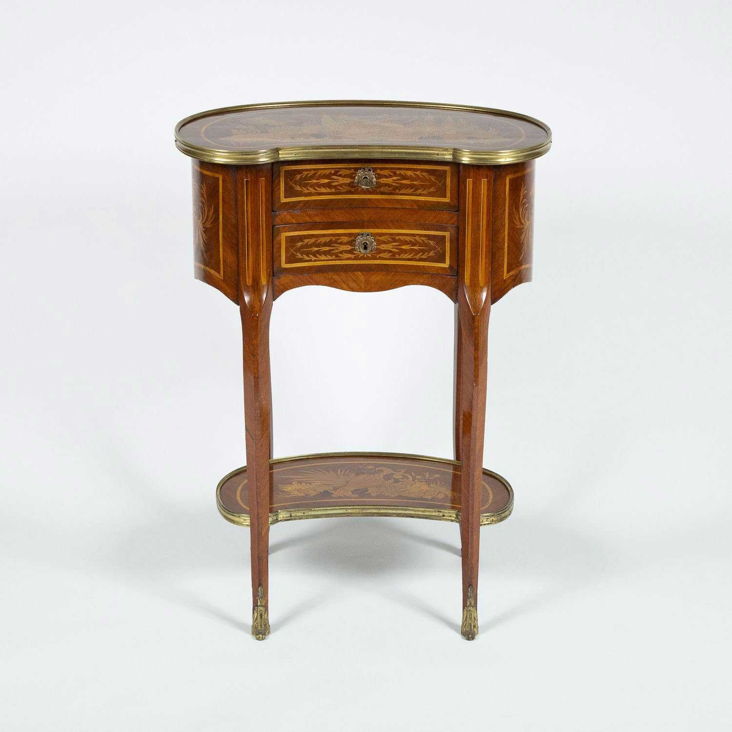 FLORAL MARQUETRY COMMODE