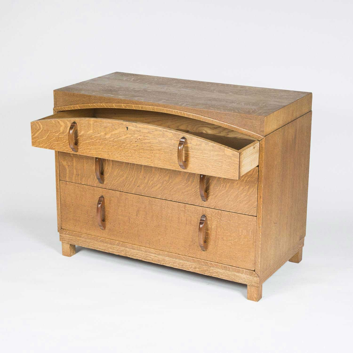 CHEST OF DRAWERS BY J SHOOLBRED